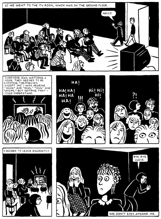 Read Chapter 1 - The Soup, page 9, from Marjane Satrapi's Persepolis 2 - The Story of a Return