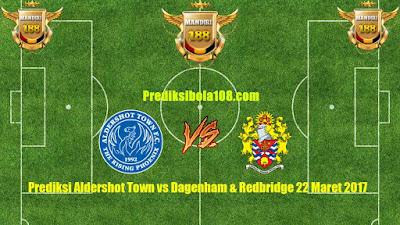AGEN BOLA - Prediksi Aldershot Town vs Dagenham & Redbridge 22 Maret 2017