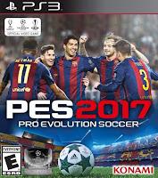 PES 2017: Pro Evolution Soccer 2017 PT-BR PS3 Torrent