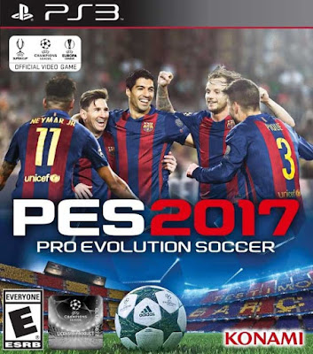 PES 2017: Pro Evolution Soccer 2017 PT-PT PS3 Torrent