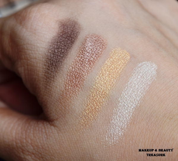 diana of london cosmetics swatches