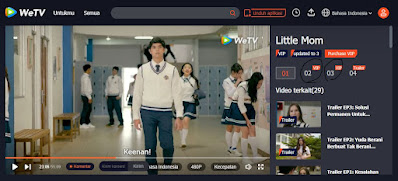 Link Steraming Nonton Little Mom Episode 2 dan 3 Full Movie di WeTV VIP Download Web Series