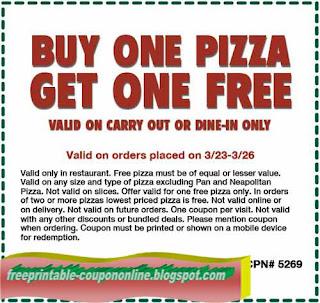 Free Printable Papa Gino's Coupons
