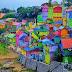 Jodipan Kampung Warna Warni di Kota Malang Wisata Baru di Tengah Pandemi