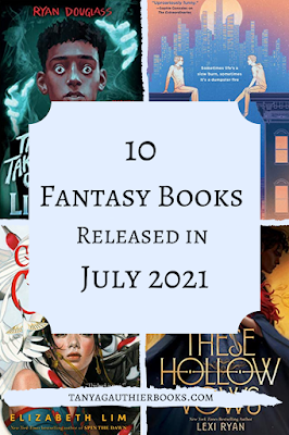 10 Fantasy Books Released in July 2021