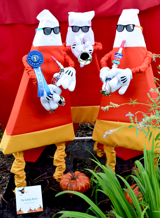 "Scarecrows in the Garden | ""The Candy Horns"" 