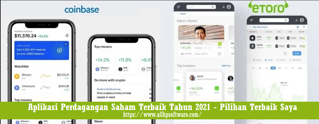 Aplikasi Perdagangan Saham Terbaik Tahun 2021 - Pilihan Terbaik Saya