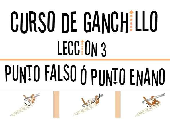 Curso de Ganchillo-Leccion 3