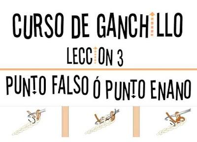 Curso de Ganchillo-Lección 3