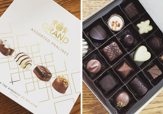 Decadent Grand Pralines in the November Degusta Box