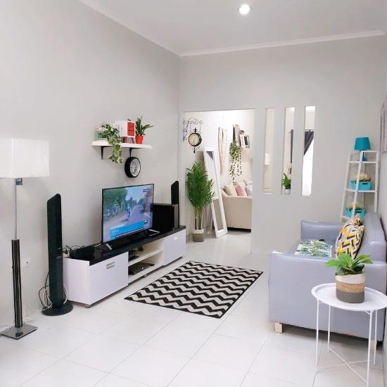 LINGKAR WARNA: Ide desain interior rumah minimalis type 36 ...