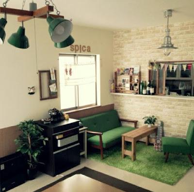 Cozy small apartment decorating idea