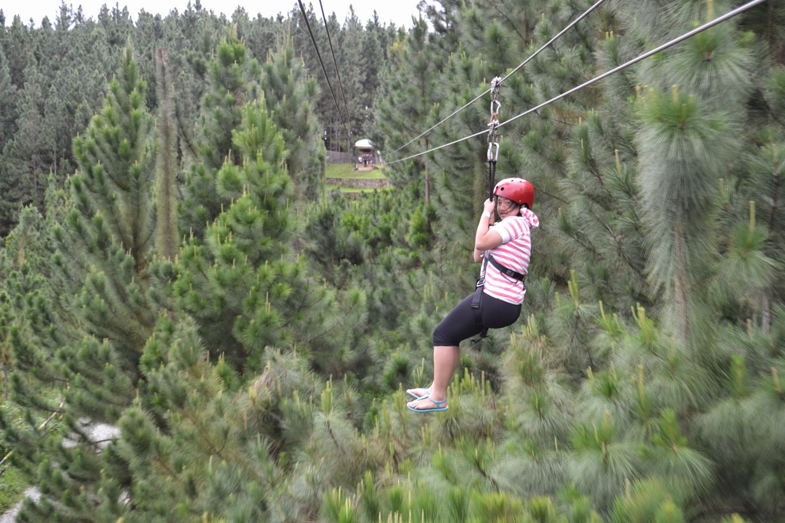 Dahilayan Adventure Park Zip Line