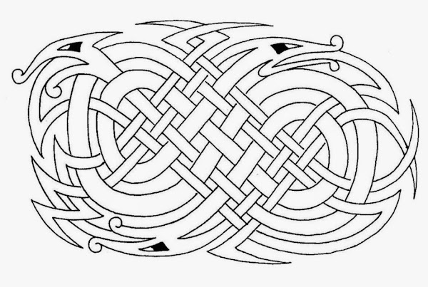 photograph relating to Printable Celtic Stencils identified as No cost Printable Celtic Knot Coloring Webpages