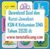 Soal KSNK KSN-K OSN Kebumian SMA 2020 dan Kunci Jawabannya (Tingkat Kabupaten/Kota)
