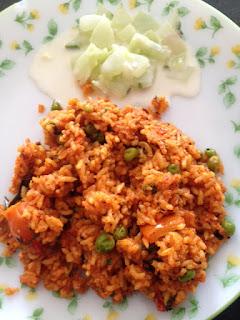 Peas Tomato Rice