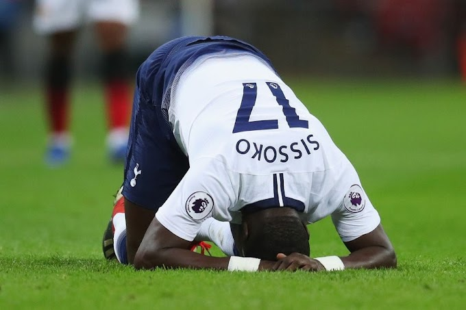 OFFICIAL: Tottenham confirm Sissoko will be out until April due to knee injury