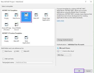 Membuat aplikasi dengan asp net mvc 5
