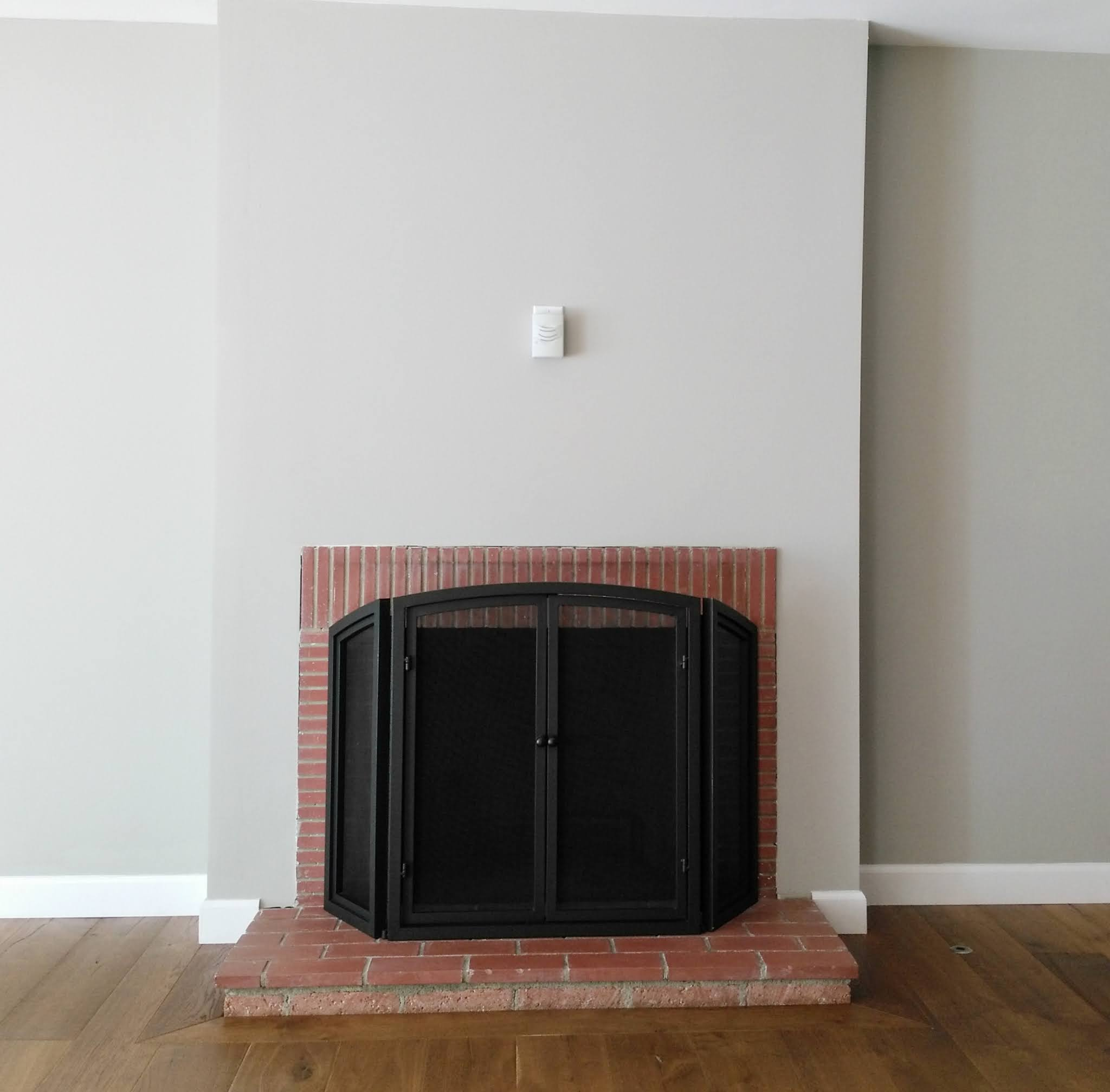 fireplace makeover and living room remodel brick fireplace