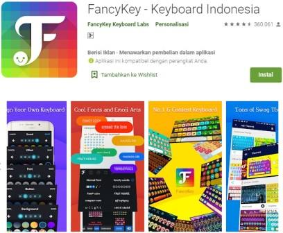 FancyKey - Keyboard Indonesia