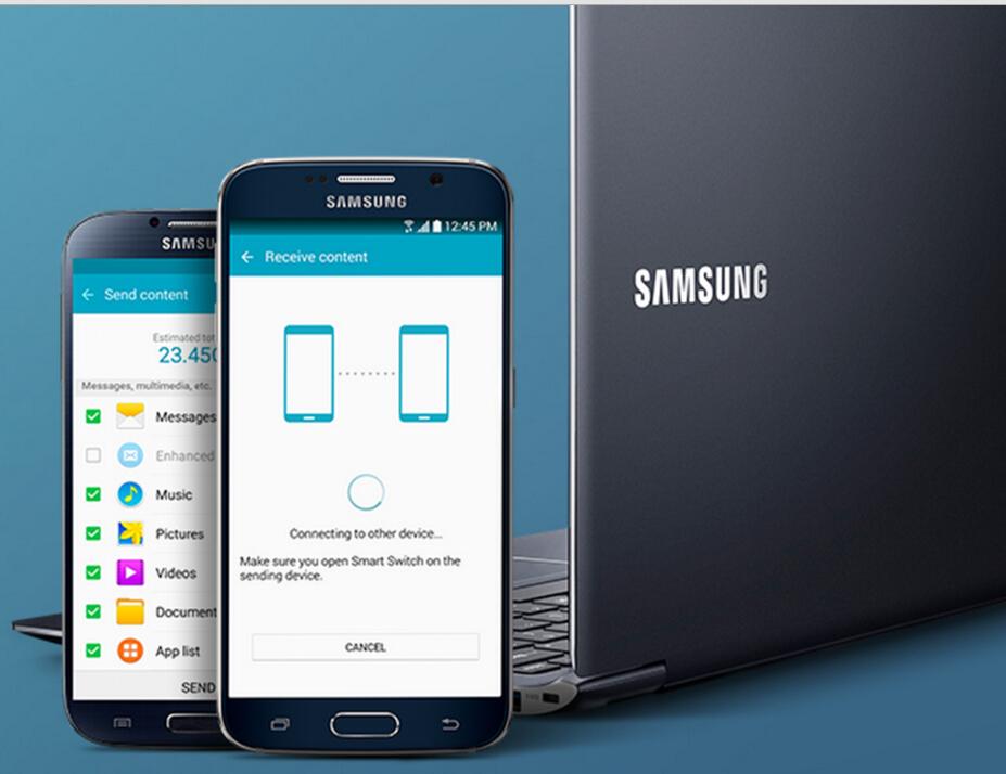 Samsung back up