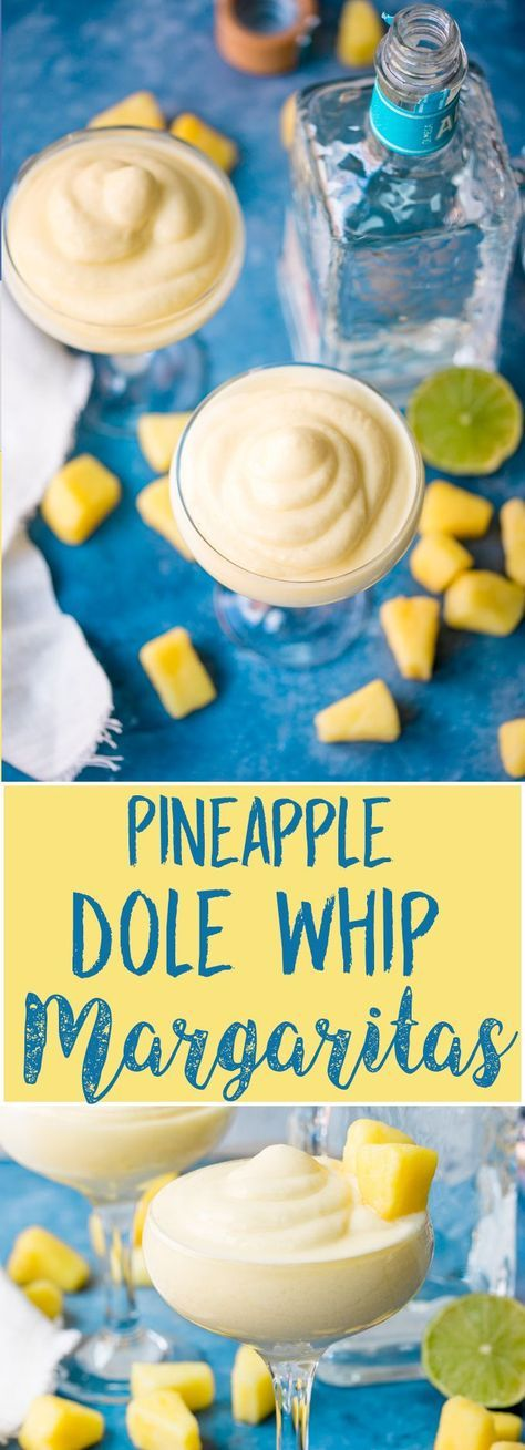 Pineapple Dole Whip Margarita