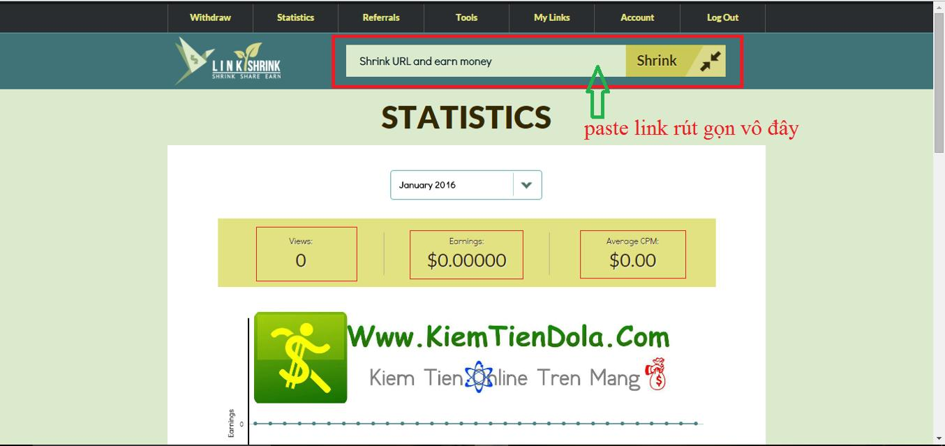 kiem tien tai linkshrink.net