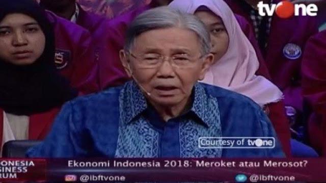 Kwik Kian Gie: Pembangunan Infrastruktur Pemerintahan Jokowi Ngawur!