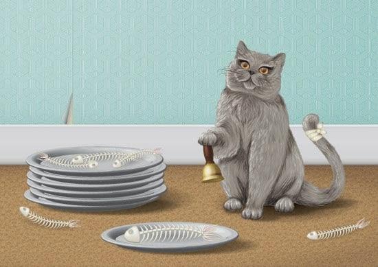 Creating a Manipulative Cat Illustration in Adobe Illustrator