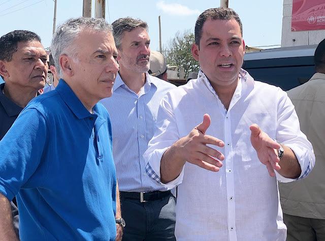 Gobernador Nemesio Roys solicitó apoyo a Embajador de Estados Unidos para mejorar infraestructura en zona de frontera
