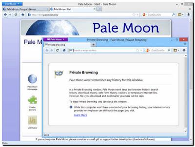 Pale Moon 27.4.0 Terbaru Gratis