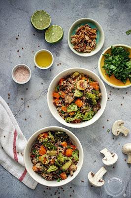 Salata sa heljdom i brokolijem