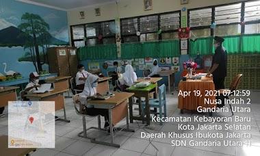 Pembelajaran Tatap Muka Terbatas SDN Gandaria Utara 11   19 April 2021