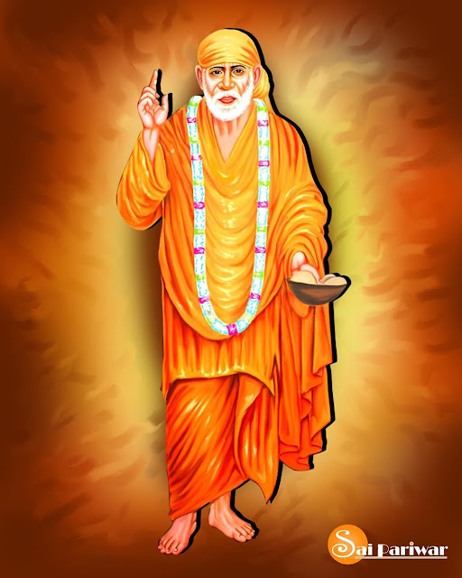 Sai baba orange clothes wear images 2020