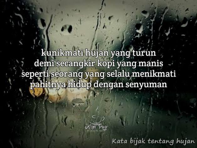 Kata Mutiara Hujan Dan Rindu Kumpulan Kata Romantis