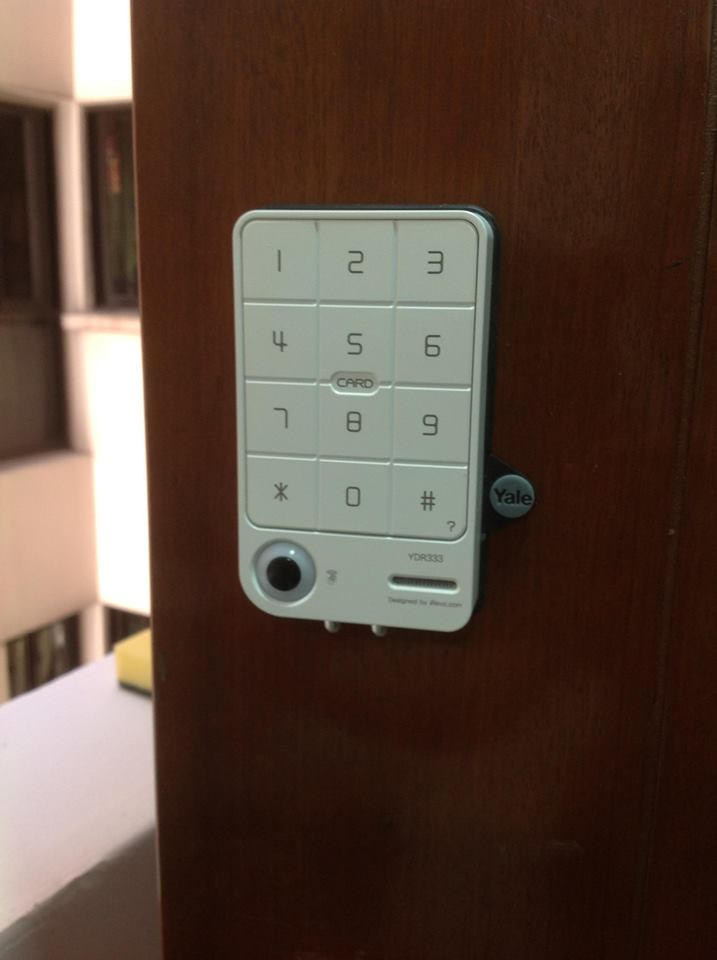 Skl Diy Uptown Yale Ydr333 Digital Door Lock Rm 1200