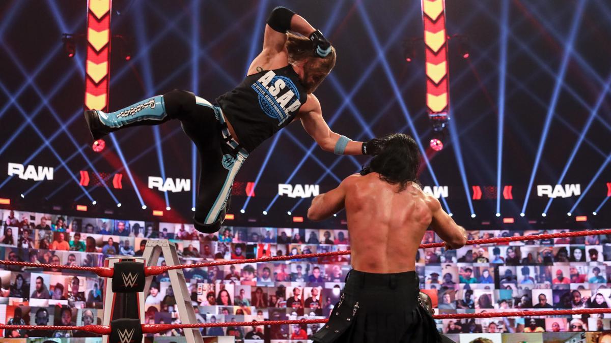 AJ Styles and Drew McIntyre on WWE RAW