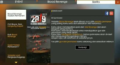 Cara Dapetin Power Revenge Poin FF Free Fire  Cara Mendapatkan Power Revenge Point di Blood Revenge Hadiah Permanen