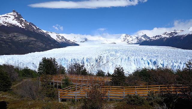 Maior geleira em extensão horizontal do mundo