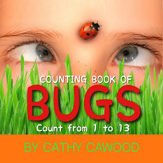 Count 13 ladybugs, snails, grasshoppers, cicadas, dragonflies, beetles, caterpillars and more