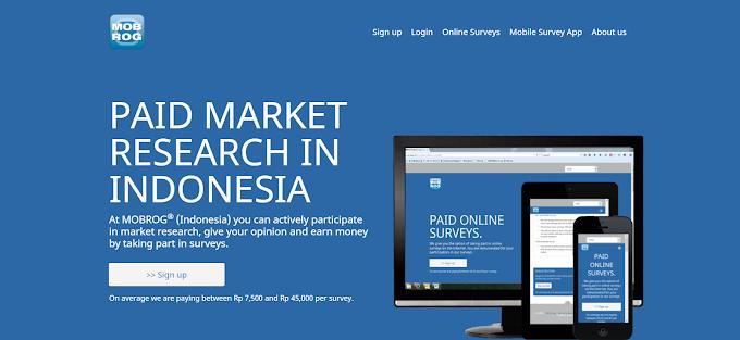 Mobrog Indonesia : Paid Survey Indonesia Dengan Bayaran Hingga $1/ Survey