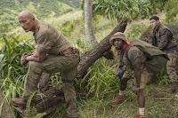 Kevin Hart, Dwayne Johnson and Nick Jonas in Jumanji: Welcome to the Jungle (18)