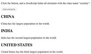 penggunaan atribut class pada html
