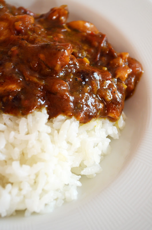Delicious Vindaloo Curry Chicken