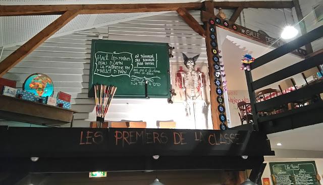 restaurant, la récré, Nantes, bullelodie