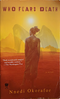 Book Cover - Nnedi Okorafor - Who Fears Death