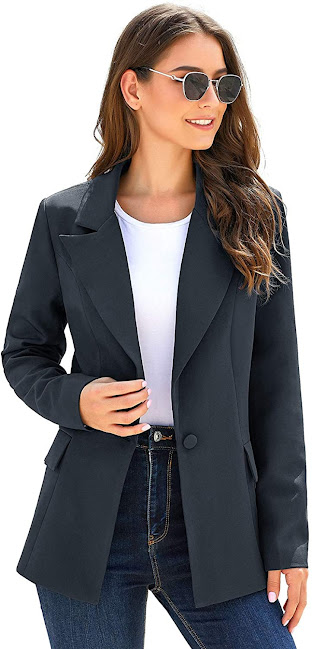 Women's Navy Blue Blazers