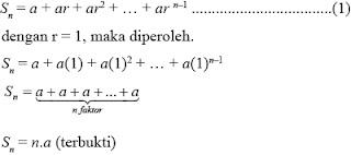 Perbedaan deret aritmetika dengan geometri