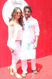 Bollywood and TV Show Celebs Playing Holi 2017   Zoom Holi 2017 Celetion 13 MARCH 2017 048.JPG