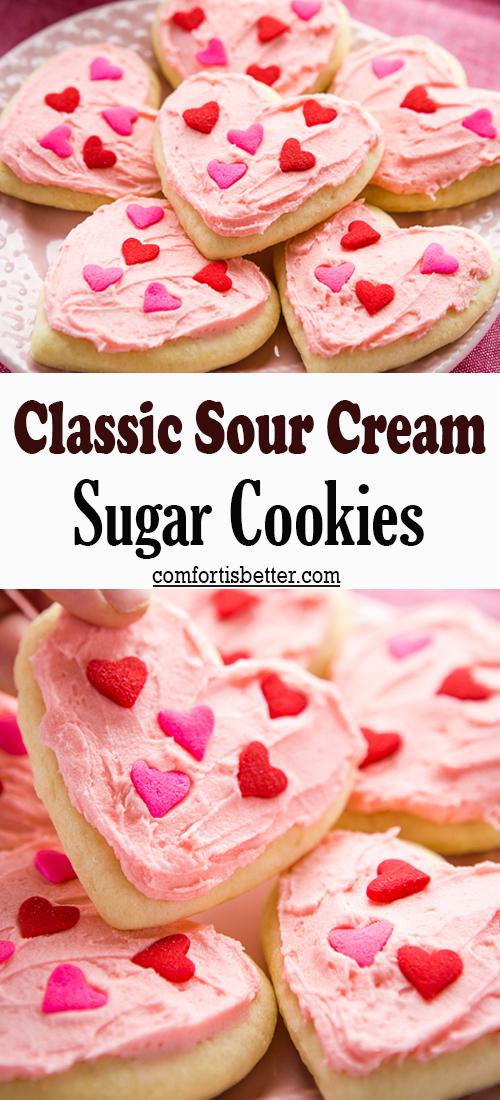 Classic Sour Cream Sugar Cookies
